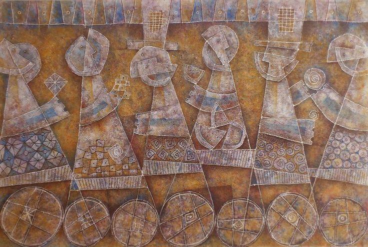 Artist : Alain Bailleres, Title : Mercado sobre ruedas. Para más información: https://www.facebook.com/pg/MADartmx/photos/?tab=album&album_id=1066284523381968