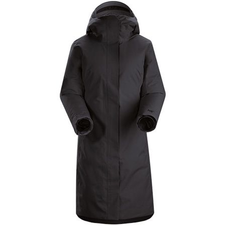 Arc'teryx Women's Patera Parka in Black sleek sophistication but really cosy. #winteriscoming #rdguk