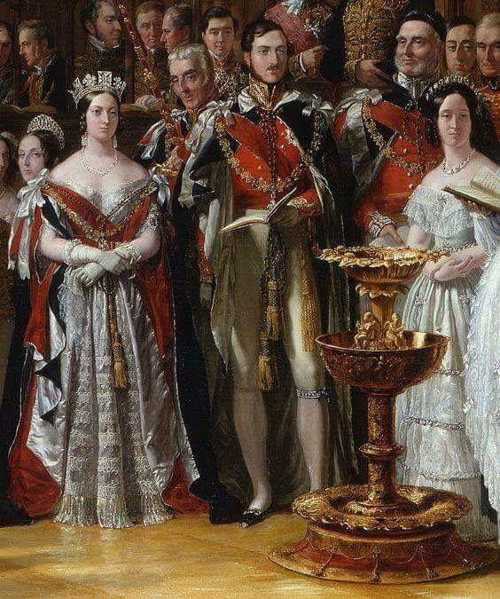The Christening of the Prince of Wales