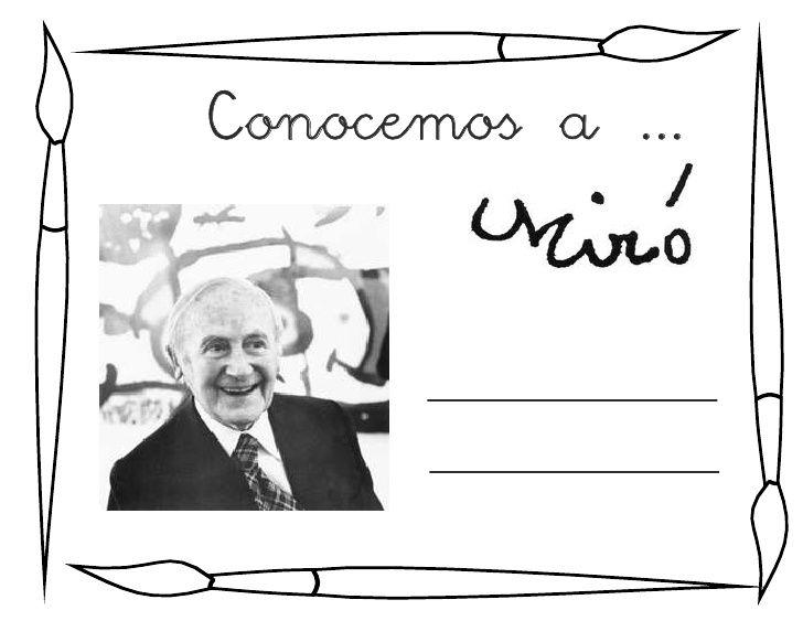 Conocemos a Miró fichas proyecto                                                                                                                                                                                 Más