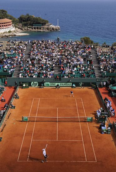 not the most prestigious but, surely the glamazon of all tennis tournaments: Monte Carlo ATP Masters