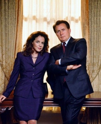 """Martin Sheen (as Josiah """"Jed"""" Bartlet, President of the United States) and Stockard Channing (as Abigail Bartlet, First Lady) in """"The West Wing"""" (TV Series)"""