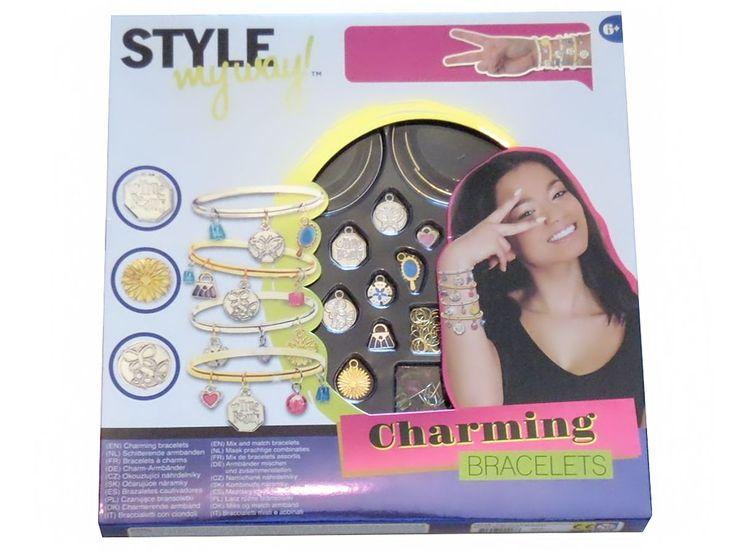 'Style my way - Charm Armbänder zum selber machen - ab 6 Jahre' - Diesen und weitere Artikel finden Sie auf Marias-Einkaufsparadies.de ! - (www.marias-einkaufsparadies.de)