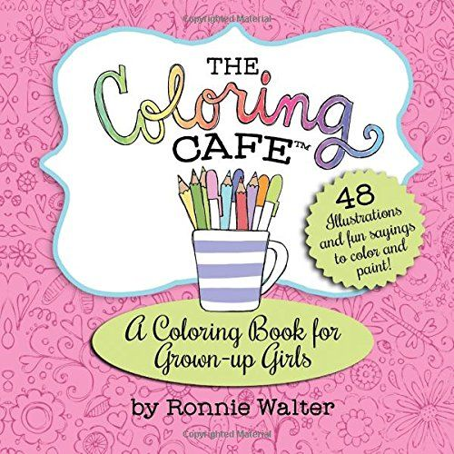 The Coloring Cafe Adult Books Journals A Travel Size Book Kits Are Available At Shop On Etsy