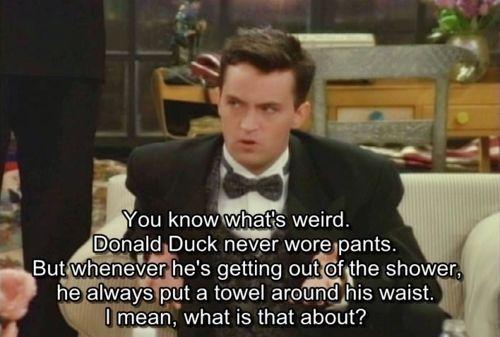 Chandler haha