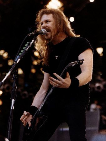 Metallica Guitarist/Lead Singer... James Hetfield