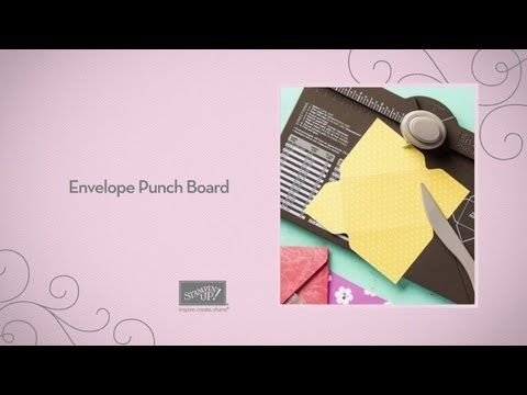 Envelope Punch Board---Why go with boring, white, normal-sized envelopes when you can use colorful paper to create everything from itty bitty to long and skinny? Our creativity-boosting Envelope Punch Board makes it easy to customize envelopes in up to 66 different sizes!