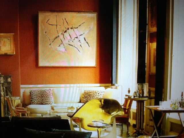 The Living Room Painting Balthus