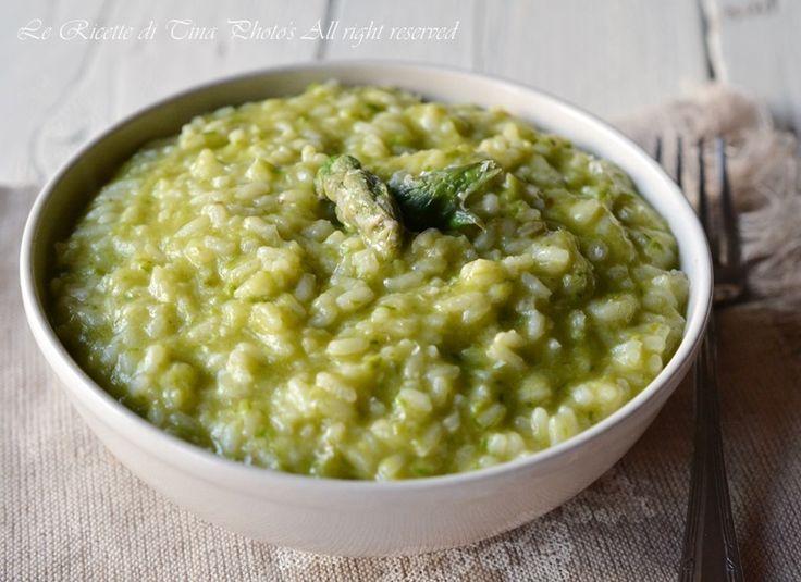 risotto asparagi bimby un primo piatto con gli asparagi facile e veloce.Se cercate idee su come cucinare gli asparagi questa è la ricetta che fa per voi