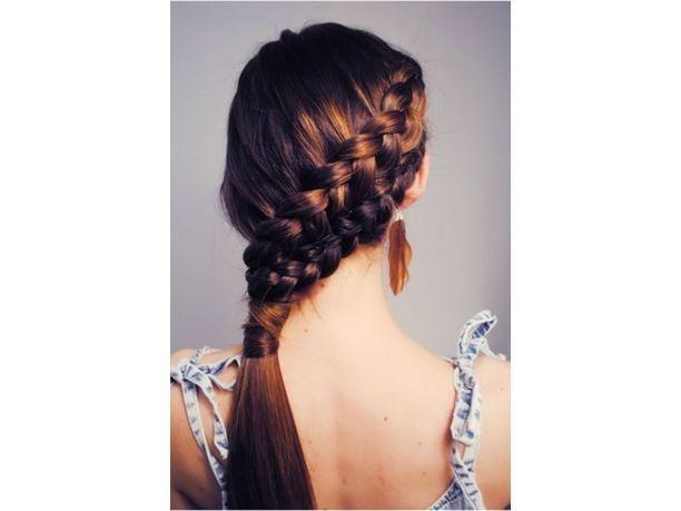 #Acconciature #estate2013: la #treccia  http://www.veraclasse.it/articoli/bellezza/capelli/come-fare-la-treccia-a-spina-di-pesce/10568/