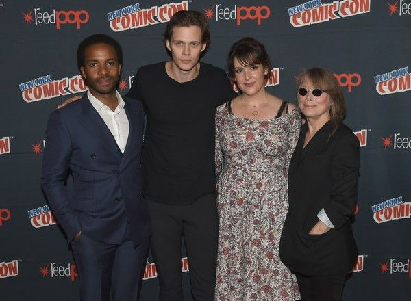 with Andre Holland, Melanie Lynskey and Sissy Spacek