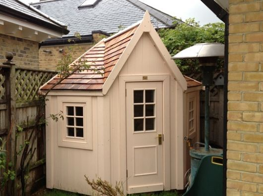 17 best images about shed 39 s mini barns playhouse 39 s out for Corner garden shed designs