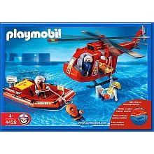Playmobil  - Sauveteurs Hélicoptère et bateau - 4428