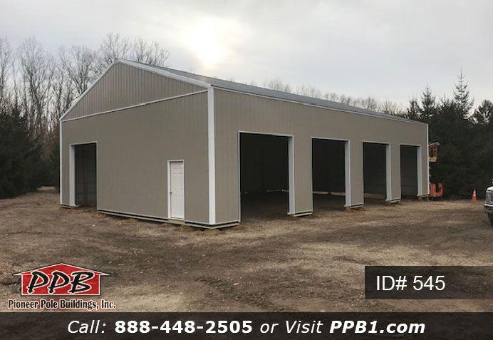 Store All Your Cars Or Trucks Pole Buildings Garage Door Types Garage Builders