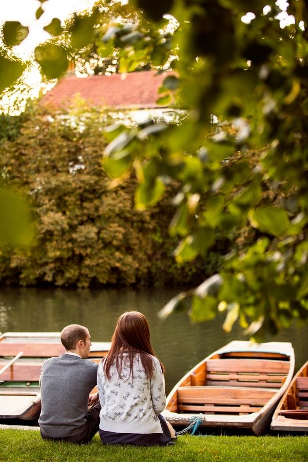 33 - An Engagement Shoot in Cambridge City Centre