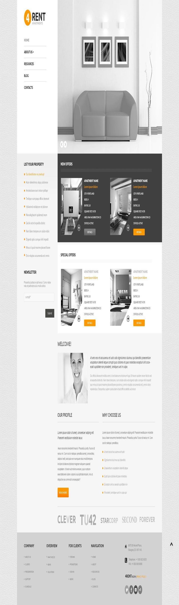 #Real #Estate #Agency #Responsive #WordPress #Theme.Cherry Framework Version:	3.1.5 WordPress Compatibility:	4.2.x-4.9.x WordPress Engine:	4.4.x Additional Features:	Advanced Theme Options, Sliced PSD, Back To Top Button, Calendar, Custom Page Templates, Dropdown Menu, Favicon, Google map, Google Web Fonts, Social Options, Tabs, Tag Cloud, Tooltips Additional Info:	Well Documented Animation:	HTML plus JS Bootstrap Version:	2.3.1 Coding:	CSS 3, HTML 5, JQuery, LESS