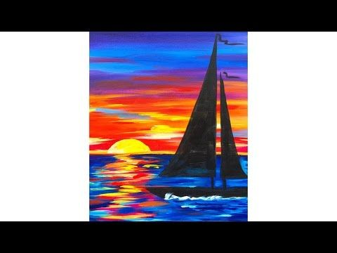 Best 25 sailboat painting ideas on pinterest sunset for Watercolor painting classes near me