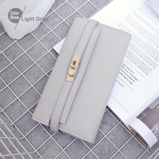 RoyaDong New 2017 Women Wallets Artificial Leather Vintage Long Style Female Purses Day Clutch Bags