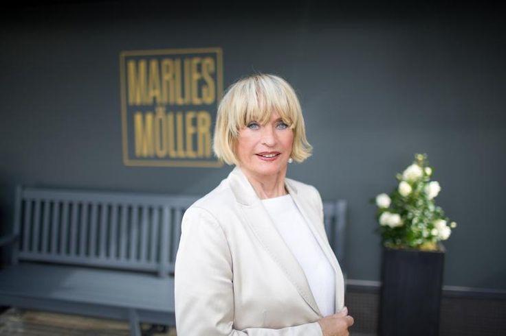 Marlies Möller mit blondem Bob: Vom würdevollen Altern hält sie wenig.