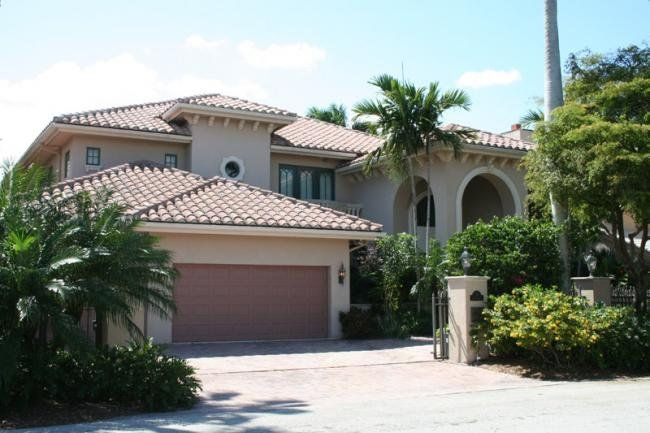 Spanish mediterranean this beautiful two story florida for Florida mediterranean house plans