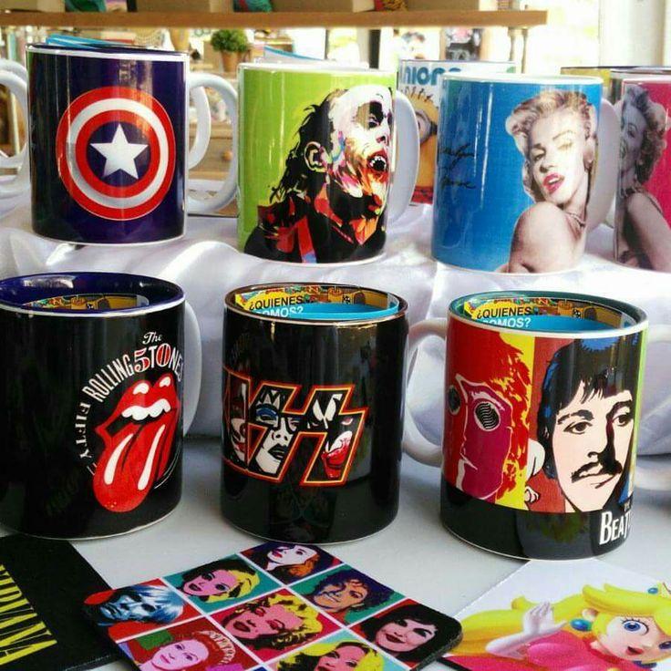 Mugs - estampados