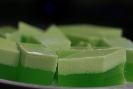 Agar - Agar Pandan | Resepi: Snacks / Kueh | Pinterest ...