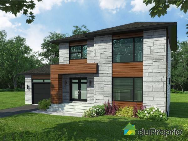 252 best Maison images on Pinterest Modern contemporary homes - tva construction maison neuve