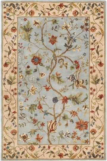 Love The Blue In This Rug Still Traditional Enough In