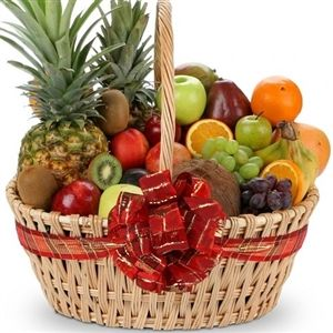 Same Day Delivery Get Well Fruit Basket