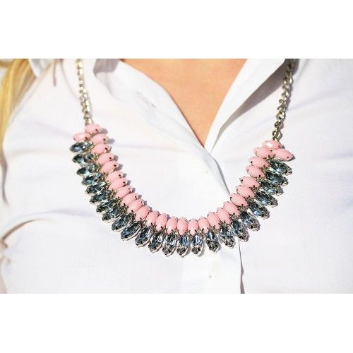 The Pretty Shiny Sparkly Necklace by Spike The Punch...pretty much uses the words I would describe it with!