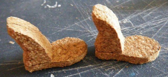 Muñeca de moda Zapatos: suelas de corcho para calzado de alta Monster muñeca