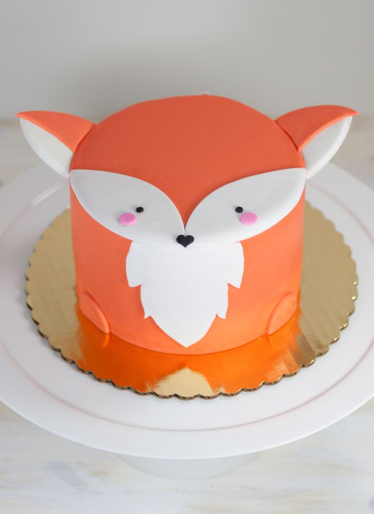 Fox Mini Animal Cake