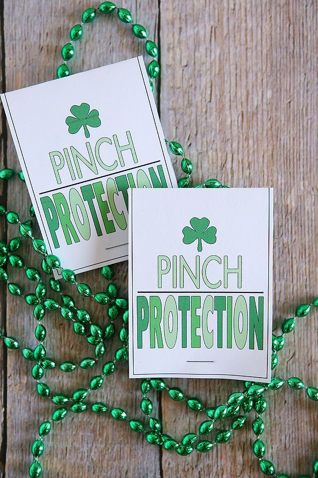 St Patrick S Day Pinch Protection Necklaces Holiday Ideas