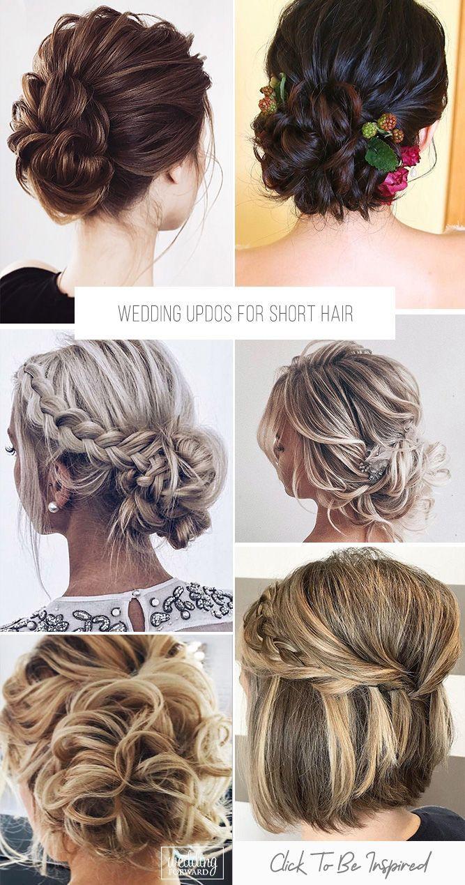 Wedding Hairstyles For Short Hair Addicfashion