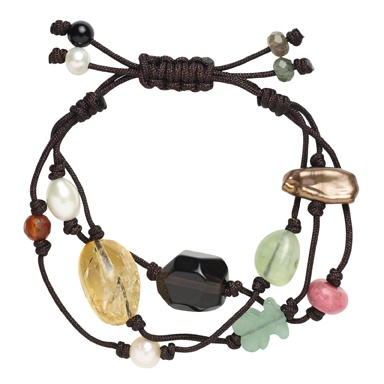 TOUS Tibet bracelet=need to learn to do this knot on the baqck of the bracelet