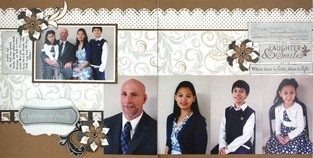 Definitions of #Family Divine #Scrapbook Layout Project Idea from Creative Memories    www.creativememor...