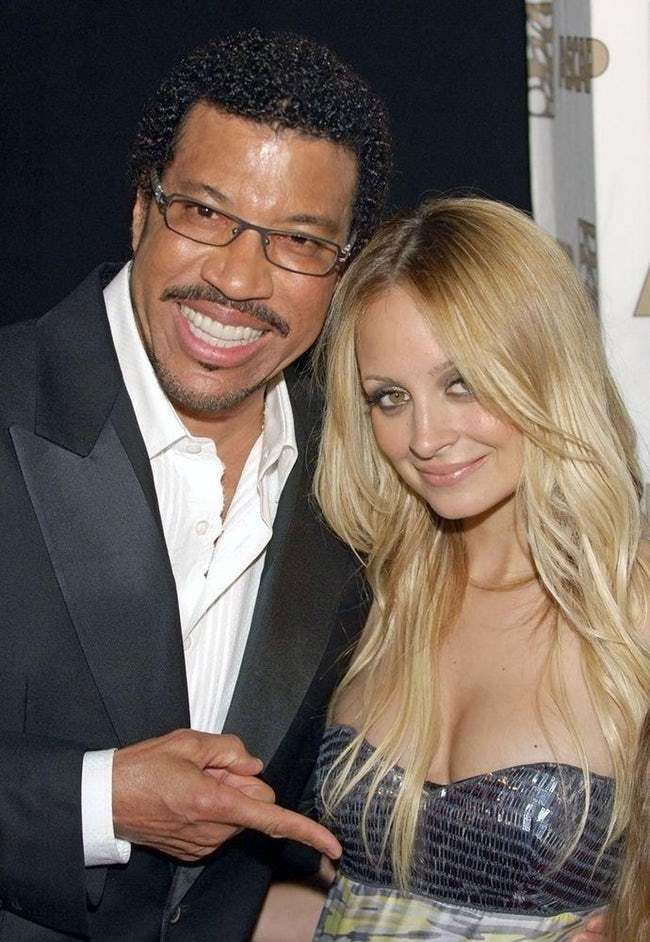 Nicole Richie was adopted and raised by Lionel Richie, whose first album went 4 times platinum in the year after her birth.  Age: 35    Birthplace: Berkeley, California, United States of America