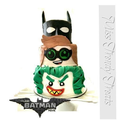 'THE LEGO BATMAN MOVIE' CAKE!