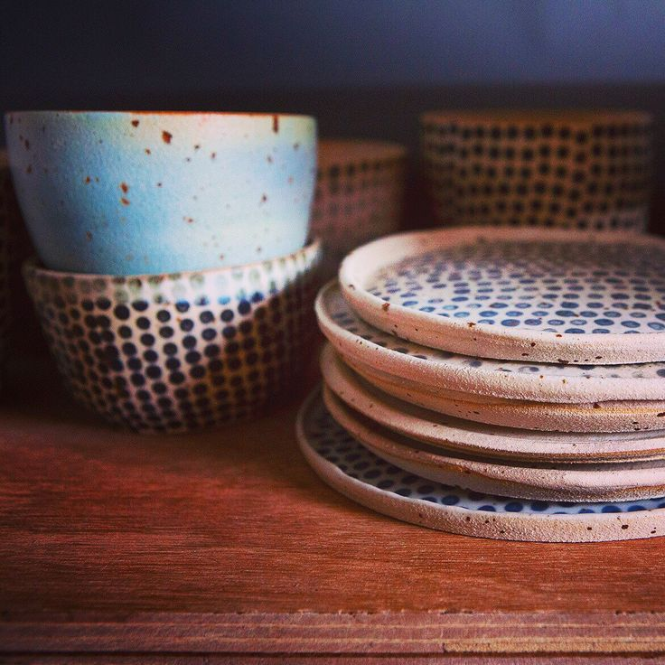 Plate collection together with matcha bowls🍃 #pollipots #bowl #new #plate #maker #potteryshop #scandinavian #smallshop #unique #oneofkind #craft #etsyshop #craft #makersgonnamake #handmade #dinnerplate #food #foodstyling #foodstylist #rusticdecor #rustic