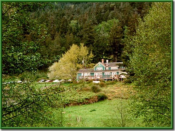 Turtleback Farm Inn, lodging on Orcas Island San Juan Islands, Washington.  Turtlebackinn.com, check it out