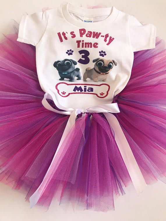 Puppy Dog Pals Birthday Shirt Outfit