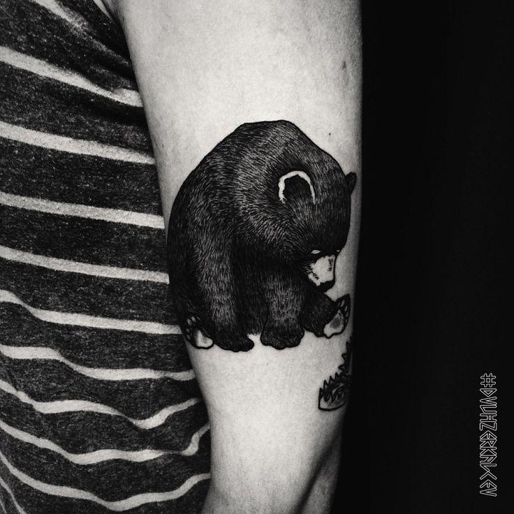 little bear tattoo instagram.com/dvuhzerkalcev/