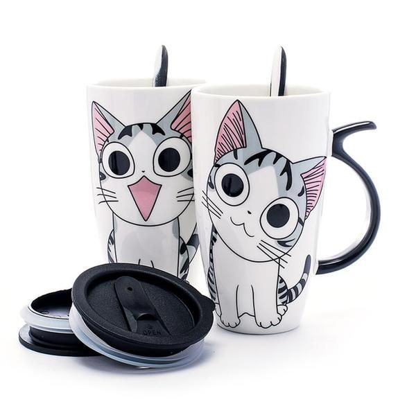 Discover our cutie cat #mugs  to spend the #winter  always in the company of your favorite #pet. At work, at home, or on a trip, choose the one that suits you best to attract jealousy from your colleagues. cat mug | cat mug diy | cat mug rug | cat mugs funny | cat mug rug patterns free | Cat Mugs | Cat Mugg-ivan | Cat mug | Cat Mugs |