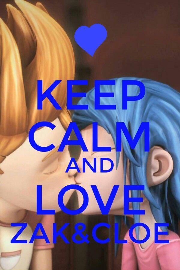 Keep calm and love Zak&Cloe (CyZ)