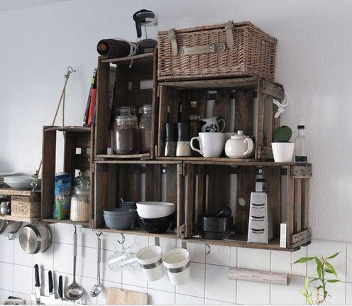 Die 25+ besten Ideen zu Küchenregal auf Pinterest   Küchenregale ...   {Küchenregal 88}