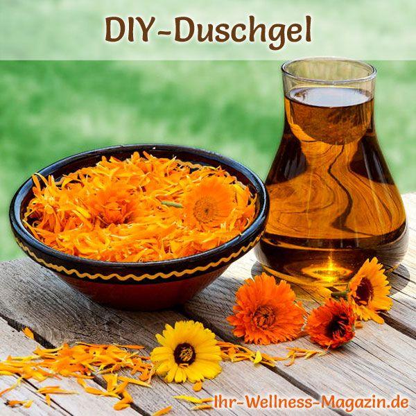Duschgel selber machen - Duschgel Rezept für mildes Duschgel für die  empfindlicher Haut ...