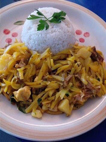 Olluquito con Charqui #Familiar Orlando, Grains, Rice, Food, Beverages, Dishes, Tasty, Orlando Florida, Essen