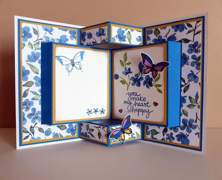 Folding Card Making Ideas Part - 20: Stampin Along With Heidi: The Wacky Watercooler March Madness Blog Hop ·  Star CardsFolded ...