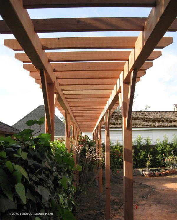 15 best images about grape arbor ideas on pinterest for Wooden garden trellis designs