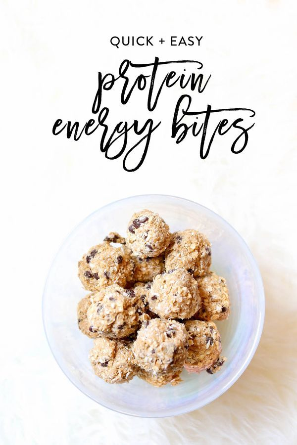The best quick and easy protein energy bites